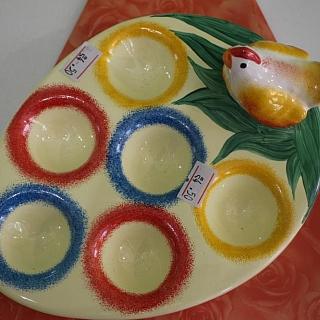 Коктиера керамична за 6 яйца