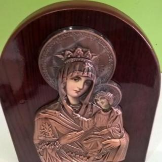 Икона Богородица и младенеца