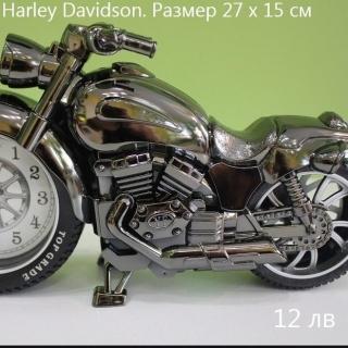 Будилник мотор Harley Davitson