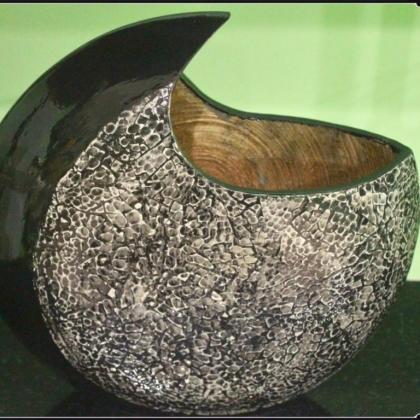 Lacquer vase LVQ022 35 sm x 12 sm x H26/35 sm