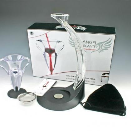 Аератор декантер за вино (DE LUX)