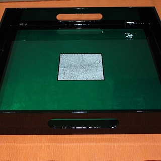 Сувенирна табла голяма - 32 x 32 x 4.5 cm-