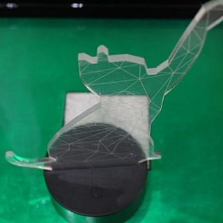 3D лампа котка Последна бройка