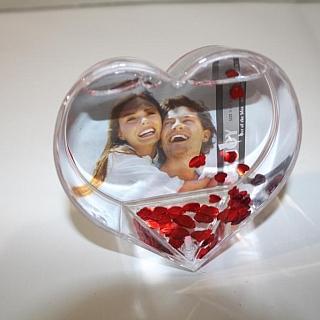 Рамка за снимки сърце