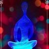 3Д лампа Йога