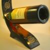 стойка за бутилка от лаково дърво