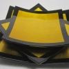 Ръчно изработени комплекти квадратни чинии 3 бр